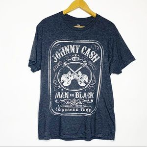 Zion Johnny Cash Graphic Band T-Shirt